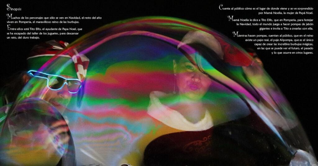Espectáculo Navideño de Burbujas Mágicas Pomper 2