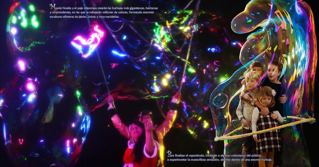 Espectáculo Navideño de Burbujas Mágicas Pomper 4