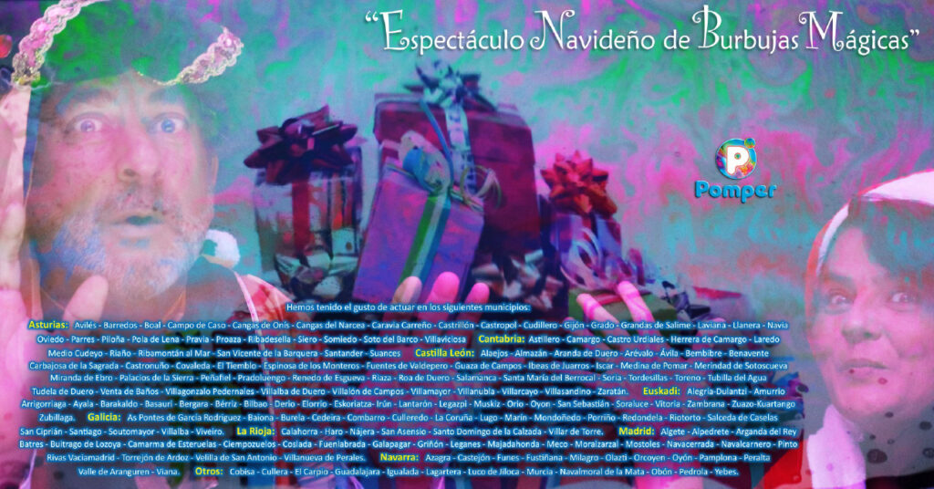 Espectáculo Navideño de Burbujas Mágicas Pomper 7