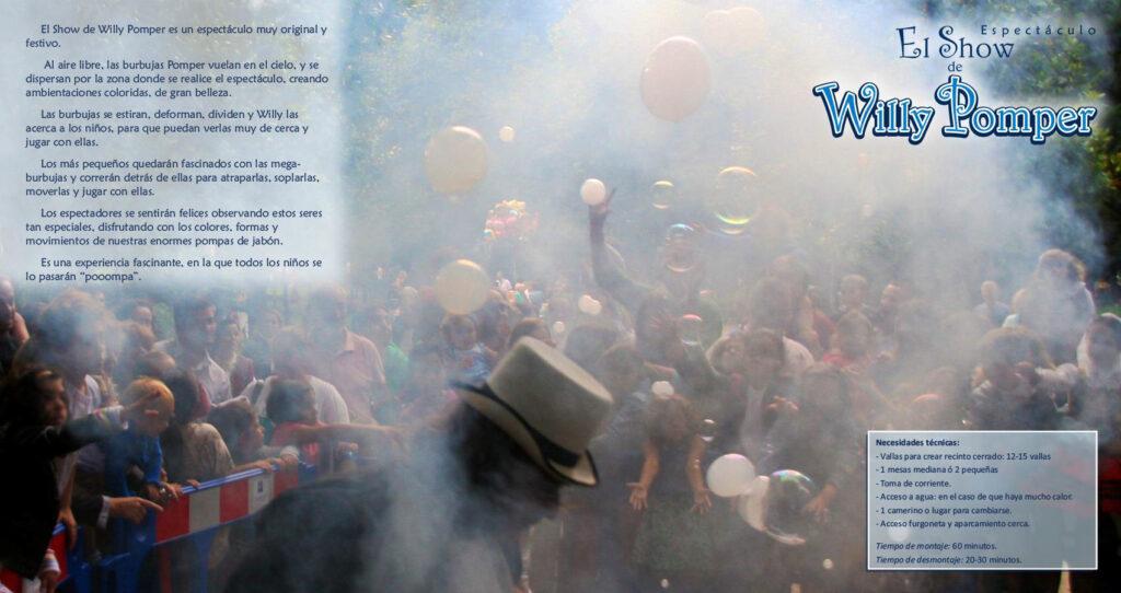 Espectáculo El Show de Willy Pomper