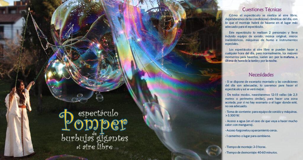 Espectáculo Pomper al aire libre-6