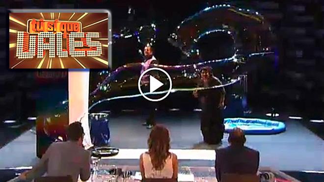 """Los Pomper en """" Tu si que vales"""" de Tele 5"""