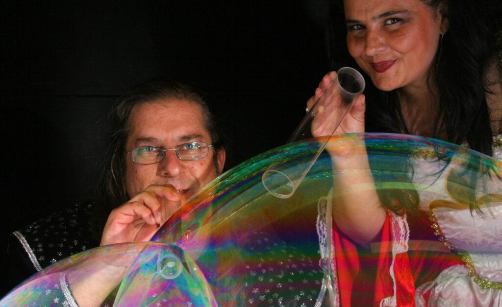 La princesa y el mago de las burbujas 8b