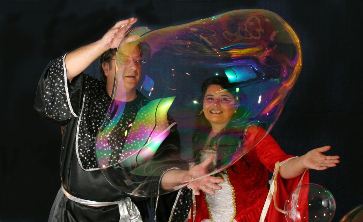 La princesa y el mago de las burbujas